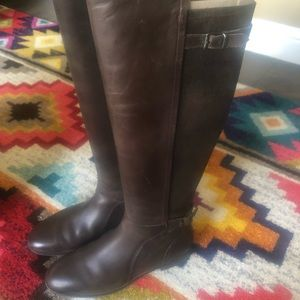 Size 10 UGG tall leather riding boots